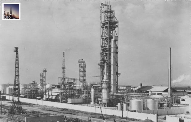 La raffinerie de Sidi Kacem en 1955 © Edition Tesseyre
