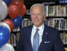 Biden officiellement investi par les démocrates