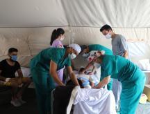 Fin de la mission de l'hôpital de campagne marocain à Beyrouth