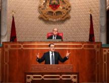 Le Chef du gouvernement lors d'un précédent passage à la Chambre des conseillers