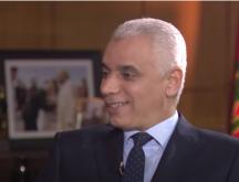 Khalid Ait Taleb, ministre de la Santé lors de son passage ce mercredi soir sur 2M © capture écran