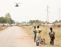attaques rebelles à l'entrée de Bangui
