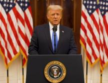 Discours d'adieu de Donald Trump