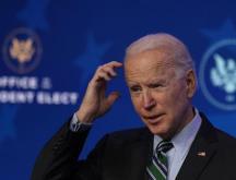 Le président américain élu Joe Biden