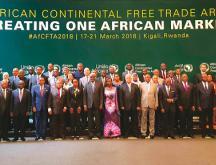 Sommet africain de Kigali en mars 2018 © DR