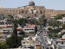 Une vue de Jérusalem où pourrait prochainement s'installer l'ambassade du Kosovo (image d'illustration). AP - Mahmoud Illean