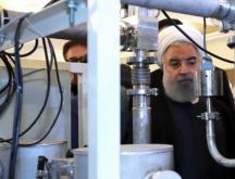 Le président iranien Hassan Rohani lors de la Journée de la technologie nucléaire, le 9 avril 2019 © AFP (archives)