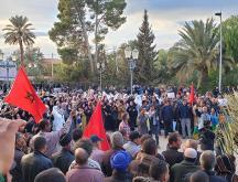 Les agriculteurs d'El Arja ont été contraints de quitter leur terres ce jeudi © DR