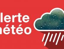Alerte météo © DR