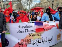 un rassemblement en solidarité avec les séquestrés des camps de Tindouf en Algérie