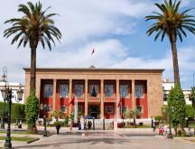 Le siège du Parlement marocain © DR