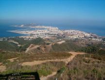 Sebta, vue depuis le belvédère d'Isabelle II © DR