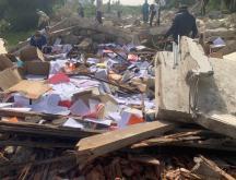 Pillage des biens et documents d'EPC Maroc à Bouskoura © EPC Maroc