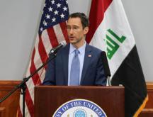 Joey Hood, secrétaire d'État adjoint américain par intérim aux Affaires du Proche-Orient © Ambassade des États-Unis en Irak