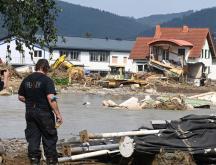 Allemagne : retour des sinistrés après les inondations