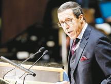 Omar Hilale, représentant permanent du Maroc à l'ONU © DR