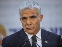 Le ministre israélien des Affaires étrangères, Yaïr Lapid, à Rome, le 27 juin 2021 © AFP