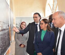Visite de l'espace historique Borj Hajoui