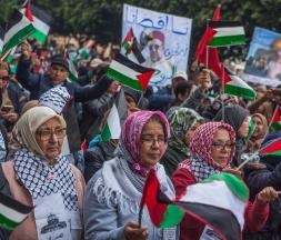 Une marche nationale pour dénoncer le plan de paix