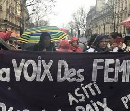 8 mars manifestations
