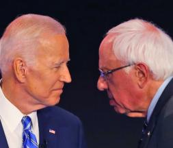 Biden et Sanders