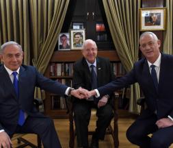 Gantz et Netanyahou