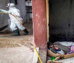 Covid-19 : la FMT protège les sans-abris à Casablanca