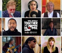 One World Together At Home : un concert planétaire pour les soignants