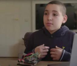 Wail, un jeune marocain de 12 ans