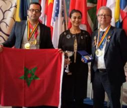 Le Maroc remporte 3 médailles d'or à Euroinvent
