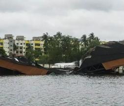 Le cyclone Amphan