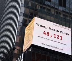 l'horloge de la mort de Trump