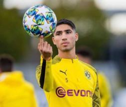Achraf Hakimi à Milan pour signer son contrat
