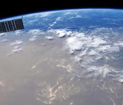 L'impressionnante brume de sable vue depuis l'espace
