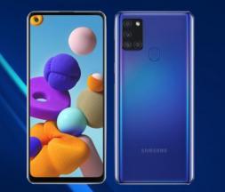Lancement des Samsung Galaxy A31, A21s et A1