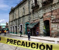 Un tremblement de terre frappe le Mexique