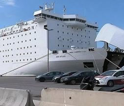 Arrivée du premier bateau chargé de MRE à Nador