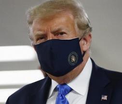 donald trump masque