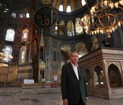Première prière musulmane à Sainte-Sophie depuis 86 ans