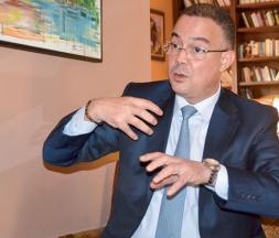 Fouzi Lekjaa, président de la Fédération royale marocaine de football (FRMF) © DR