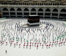 seuls 10.000pèlerins autorisés à effectuer le Hajj cette année