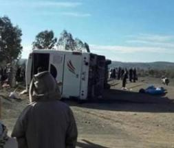 12 morts et 36 blessés dans un accident à Agadir