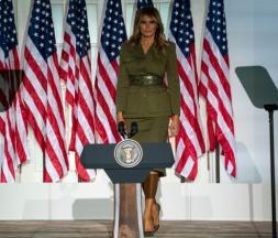 Convention républicaine : Melania Trump