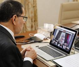 El Otmani vidéo conférence