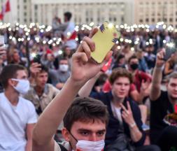 Les manifestations se poursuivent en Biélorussie