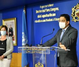 L'ONU et le Maroc s'engagent à résoudre la crise en Libye