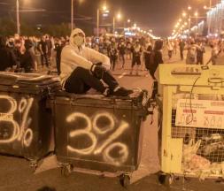 manifestations en Biélorussie