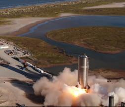 SpaceX : lancement d'un nouveau prototype à destination de Mars