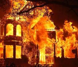 Napa Valley ravagé par les incendies