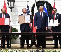 Israël, les EAU et le Bahreïn signent des accords